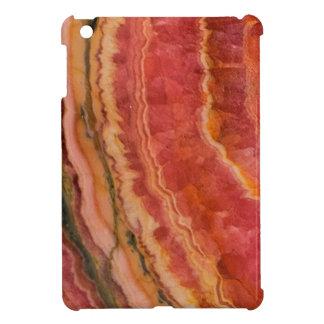 Salmon Striped Quartz Case For The iPad Mini