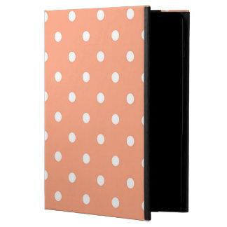 Salmon Sunset Polka Dots iPad Air Cover