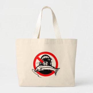Salmon Thief Cotton Tote Jumbo Tote Bag