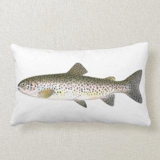 Salmon Trout Fish Lumbar Pillow