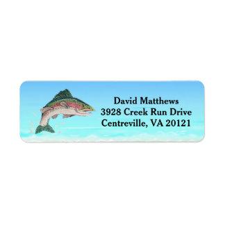 Salmon Trout Fish Return Address