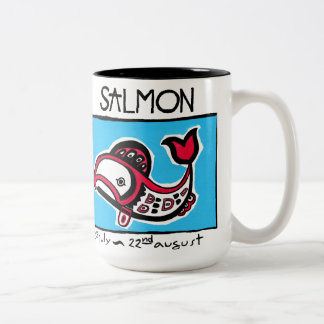 SALMON Two-Tone COFFEE MUG
