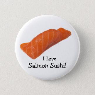 salmonsushi, I Love , Salmon Sushi! 2 Inch Round Button