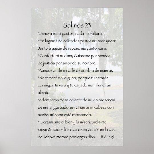 Salmos 23 Cartel Poster