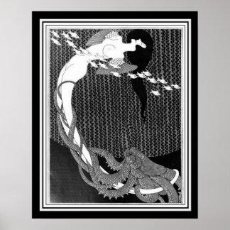 """""""Salome"""" Art Nouveau by Julius Klinger (1909) Poster"""