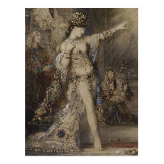 Salome et détail d apparition d aquarelle de cartes postales