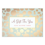 Salon and Spa Faux Gold Leaf Look Gift Certificate