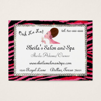 "Salon and Spa ""Ooh La La!"" Profile Cards"
