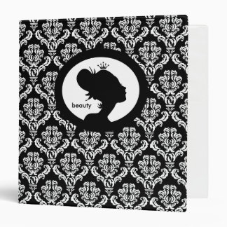 Salon Binder Appointment Book Woman's Silhouette C