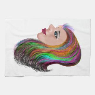 Salon Color Kitchen Towel