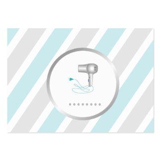 Salon de coiffure Businesscard Carte De Visite Grand Format