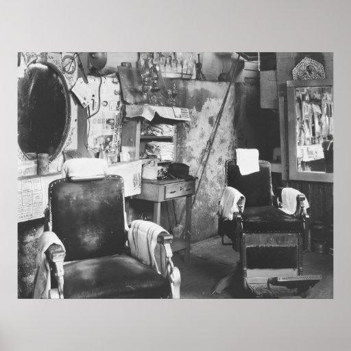 Salon de coiffure d 39 atlanta 1936 poster zazzle for A la mode salon atlanta