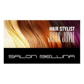 Salon de coiffure de salon de beauté de coiffeur carte de visite standard