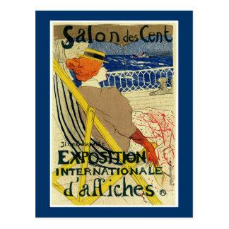 Salon des Cent ~ Exposition Internationale Postcard