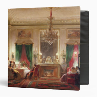 Salon of Princess Mathilde Bonaparte Vinyl Binders