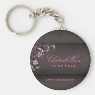 Salon Spa Butterfly Key Chain Gift pink