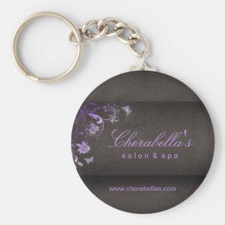 Salon Spa Butterfly Key Chain Gift purple