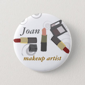 Salon Spa Makeup Artist Cosmetic 2 Inch Round Button