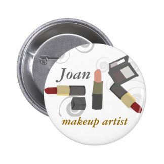 Salon Spa Makeup Artist Cosmetic 2 Inch Round Button
