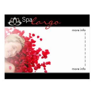 Salon Spa Massage - Blank Postcard