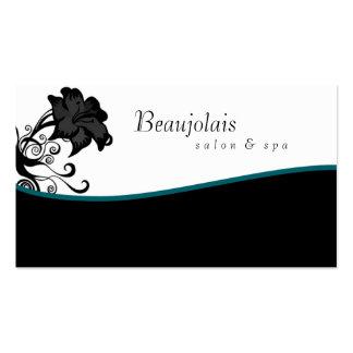 Salon Spa Massage Therapy Business Card