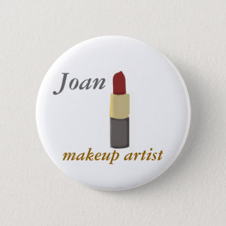 Salons Makeup Artist 2 Inch Round Button