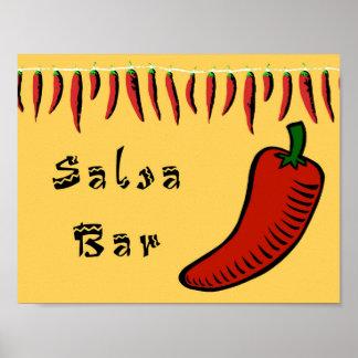 Salsa Bar Sign