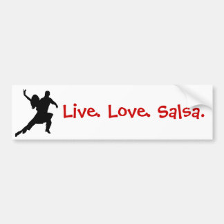 Salsa Bumper Sticker