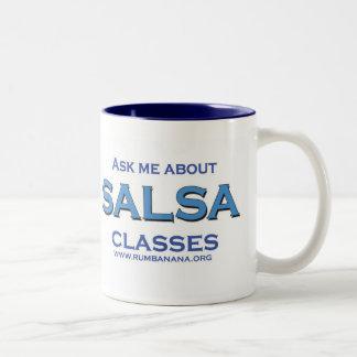 Salsa CLASSES Two-Tone Coffee Mug