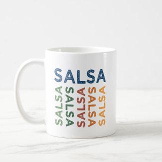Salsa Cute Colorful Coffee Mug