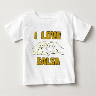 salsa dance design baby T-Shirt