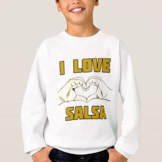 salsa dance design sweatshirt