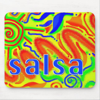 Salsa Dance Fun mousepad