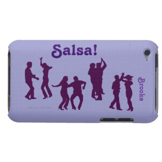 Salsa Dancers Silhouettes Dancing Custom itouch Case-Mate iPod Touch Case