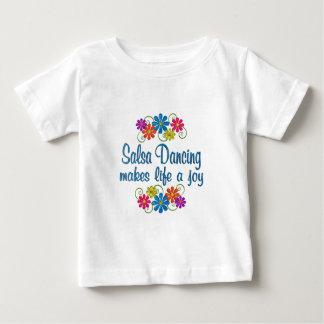Salsa Dancing Joy Baby T-Shirt
