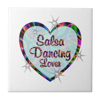 Salsa Dancing Lover Ceramic Tile