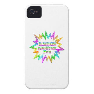 Salsa Dancing More Fun iPhone 4 Case-Mate Cases