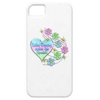 Salsa Dancing Sparkles iPhone 5 Cases