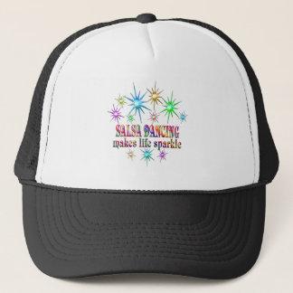 Salsa Dancing Sparkles Trucker Hat