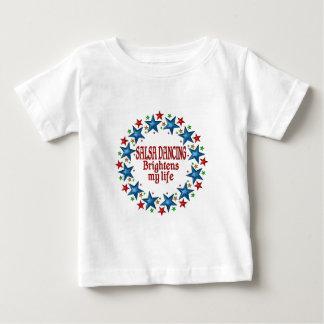 Salsa Dancing Stars Baby T-Shirt