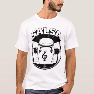 SALSA DRUM b:w T-Shirt