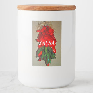 Salsa Food Container Label