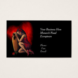 Salsa Heartbeat Business Cards