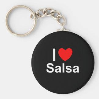 Salsa Keychain