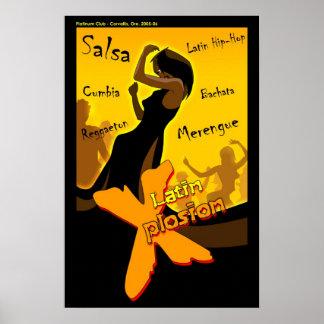 Salsa - Latin X Night Poster