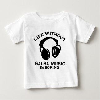 Salsa Music designs Baby T-Shirt