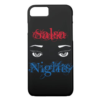 Salsa Nights phone case iphone eyes in the dark