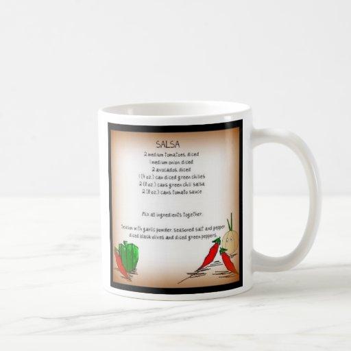 Salsa Recipe Beverage Mug