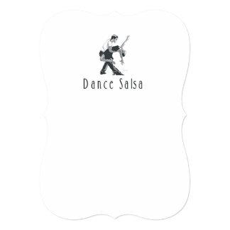 Salsa SUPÉRIEUR de danse Carton D'invitation 12,7 Cm X 17,78 Cm