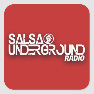 Salsa Underground Radio Sticker